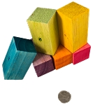 Bigger Balsa Rectangles Cubes - 3