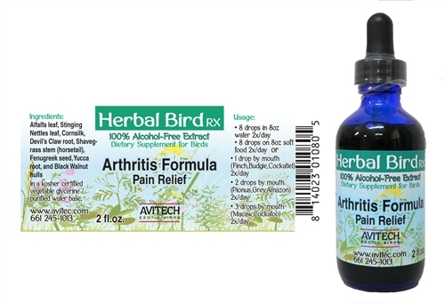 Arthritis Formula - Herbal Remedy - Avitech - 1oz