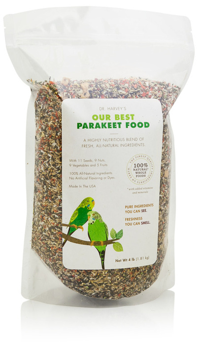 Our Best Parakeet / Budgie Food - Dr. Harvey's - 2lb