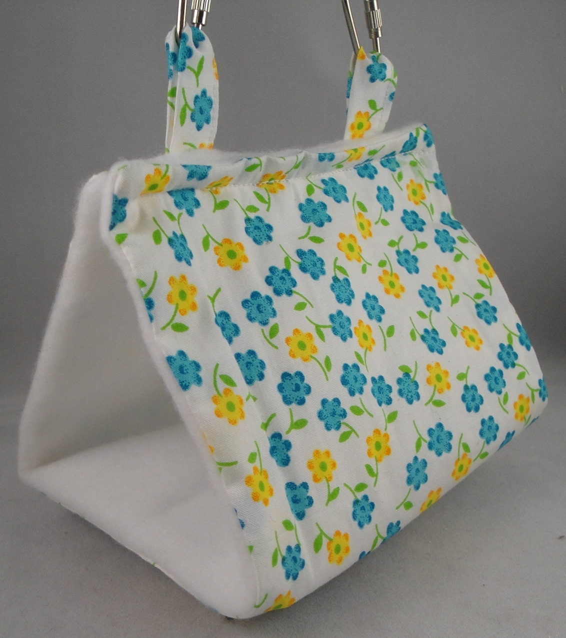Blue and Yellow Flowers Tent - Small