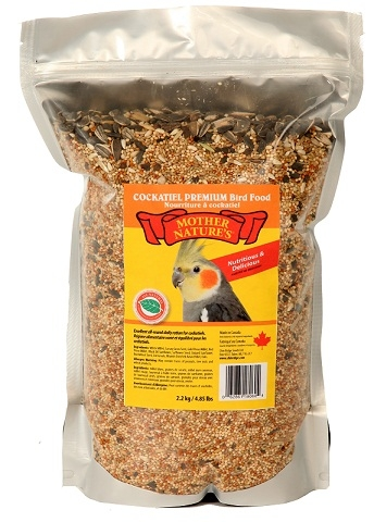 Chin Ridge Cockatiel Premium (With Sunflower Seeds) 2.2kg