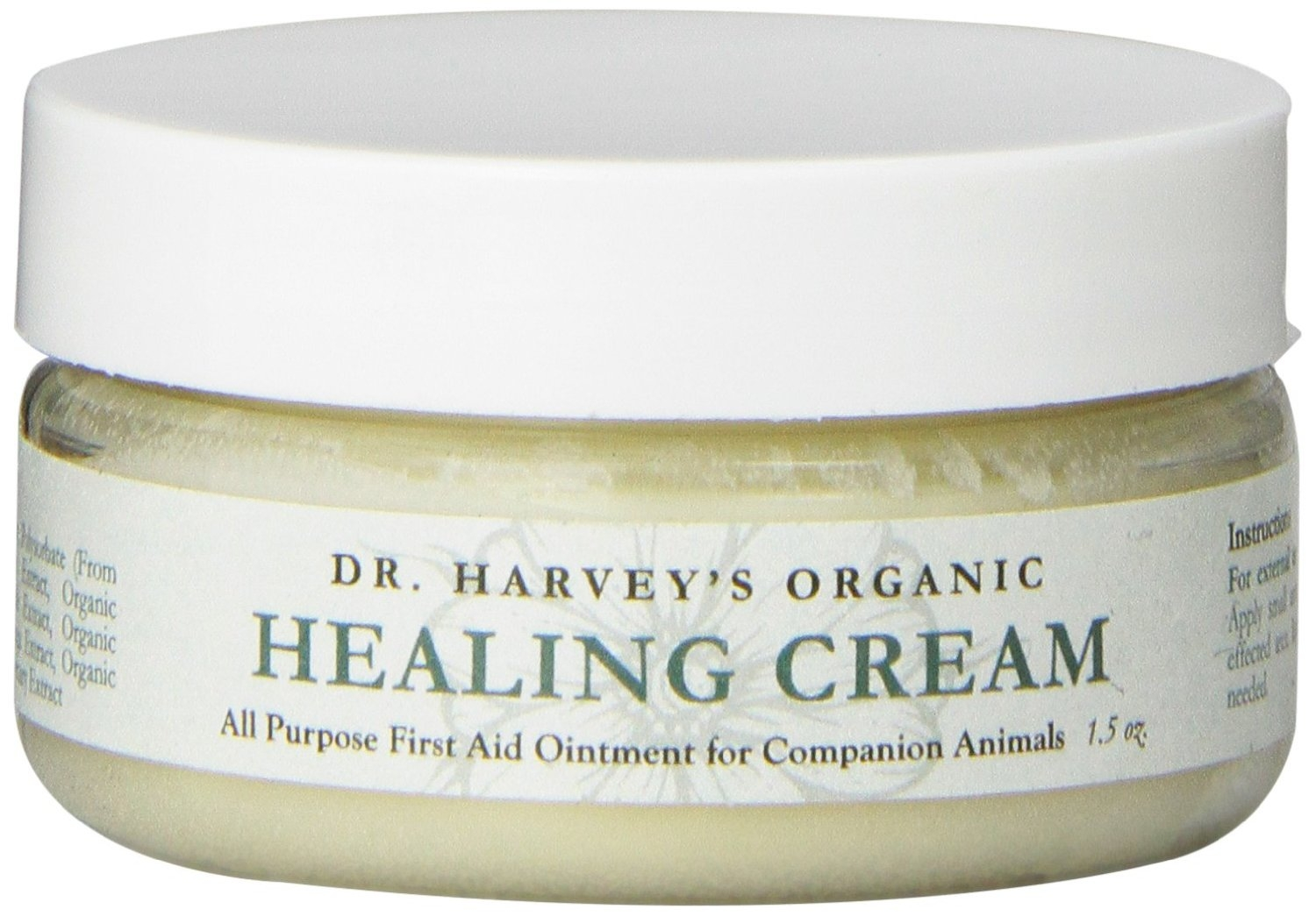 Dr. Harvey's Organic Healing Cream - 1.5oz Jar