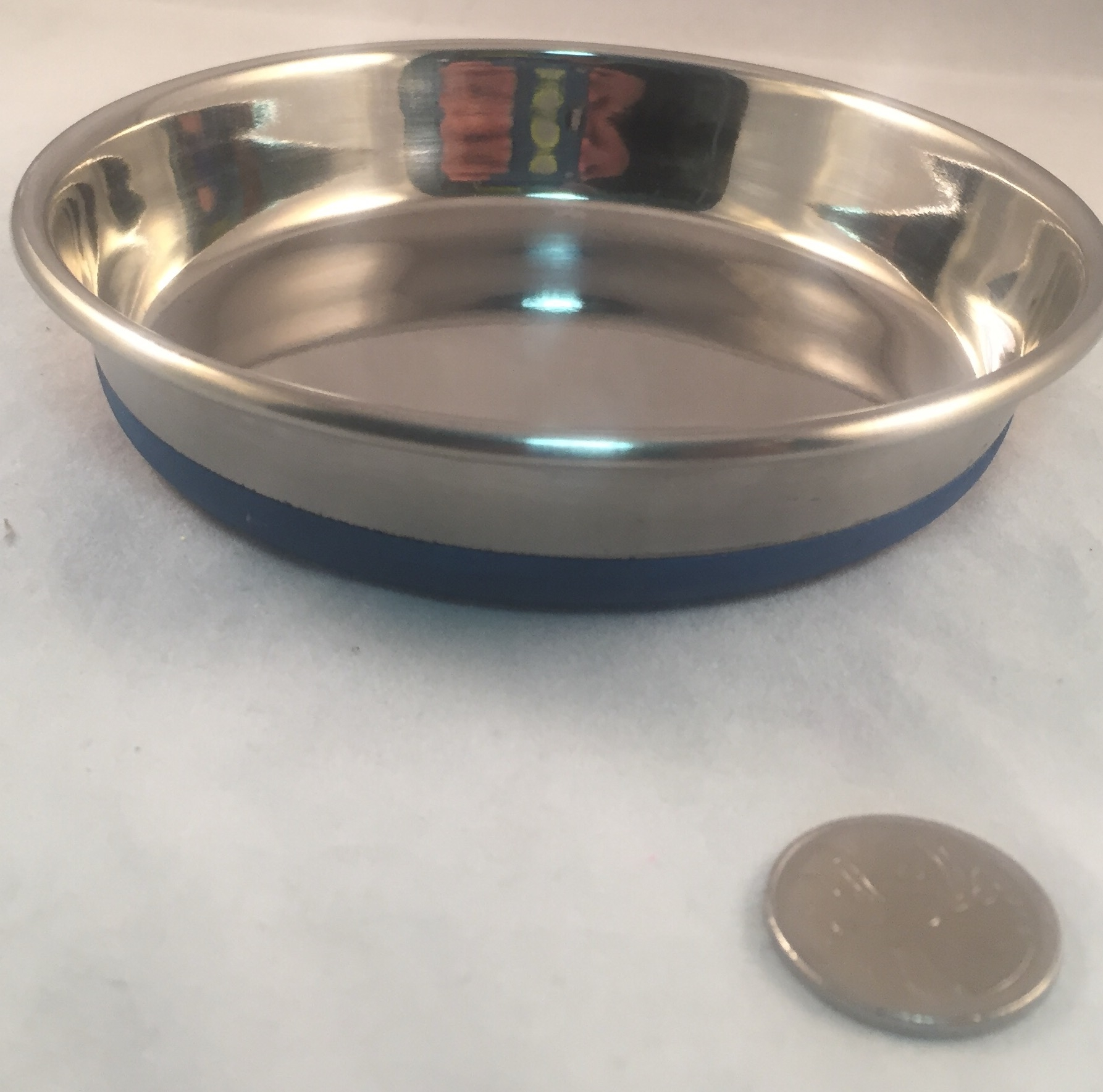 Durapet Stainless Steel Feeding Dish - 12oz Shallow!