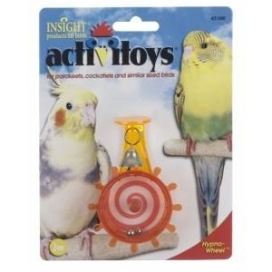 Hypno Wheel - Budgie Toy