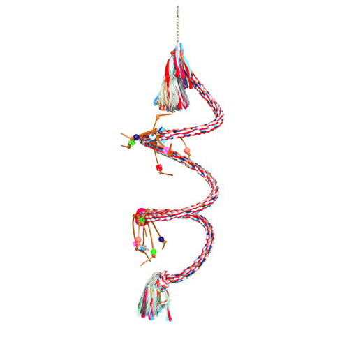 Large Spiral Boing / Bungee with Toys - 1-1/4