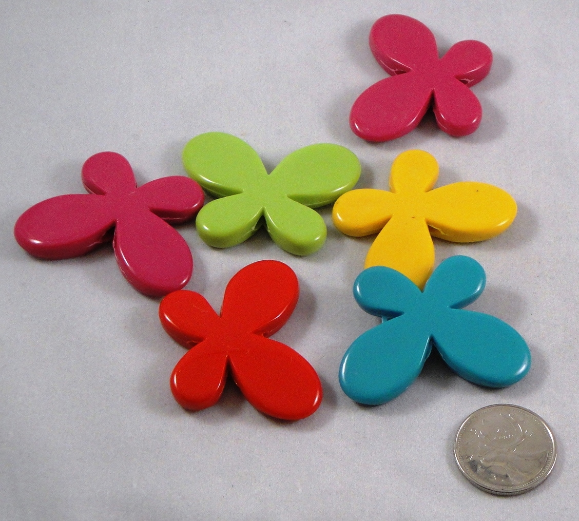 Butterfly Beads - Large - 1.8