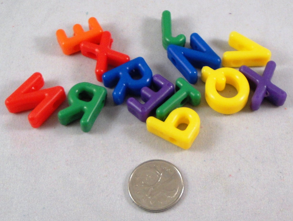 Letter Beads - 25pc