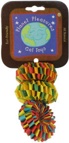 Planet Pleasures - Tire Foot Toys - 3pk