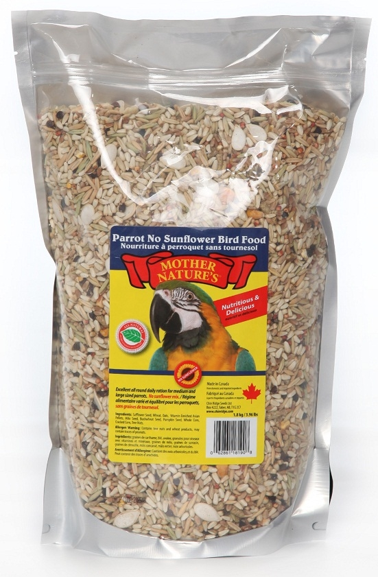 Chin Ridge Parrot (No Sunflower Seeds) 2.2kg