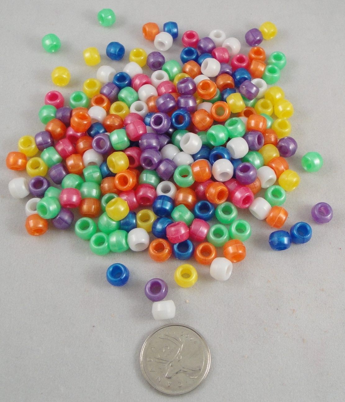 Pony Beads - Pearl - 200pc