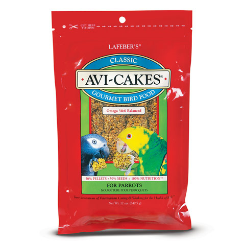 Avi-Cakes - Parrot - 12oz - Greyhaven Empty Stocking Drive