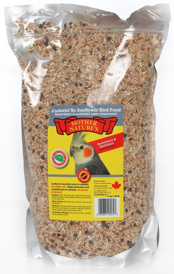 Chin Ridge Cockatiel Premium (No Sunflower Seeds) 2.2kg