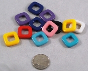 Opaque Square Beads - 1