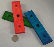 3-hole - Rectangle Bases - 3pc