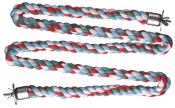 Zig Zag Cotton Rope Perch - Extra Large 1.25