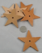 Leather Stars - Medium- 3
