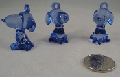 Puppy Pal Charms - Translucent Blue - 1-1/2