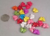 Butterfly Sparkly Charms - 5/8