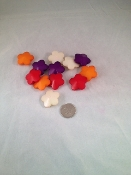 Chunky Flower Beads - 1-1/8