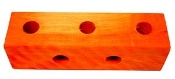 Square Toy Base - Large - 5 holes - 1-3/4