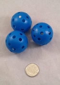 Wiffle Balls - Blue - 3pc
