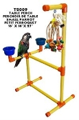 Double Height Table Top Perch - Small Parrot