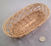 Oval Holey Willow Basket - Natural - Small - 7.5