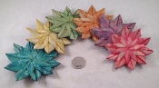 Small Palm Flowers - Coloured - 24pc - BULK