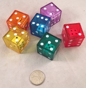 Large Double Dice Footer - 1.5