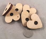 Canadian Pine Hearts - 2