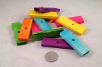 Balsa Slices - Coloured - 2-1/2