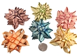 Fancy Palm Flowers - Coloured - 24pc - BULK