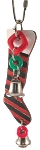 Granny's Holiday Stocking - Red & Green