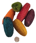 Mini Luffa - Coloured - 50pc - BULK