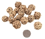 Mini Vine Balls - Natural - 3/4