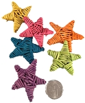 Mini Vine Stars - Coloured - 50pc - BULK