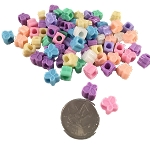Cute as a Butterfly Pony Beads - Pastel - 3/8