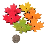 Canadian Pine Maple Leaves - 2.5 x 2