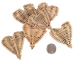 Mini Vine Hearts - Natural - 200pc