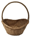 Willow Oval Handle Basket - Natural - Medium - 13