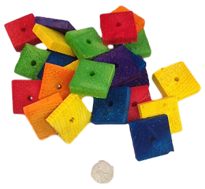 "1.5"" x 3/8"" Pine Thinners - Coloured - 24pc"