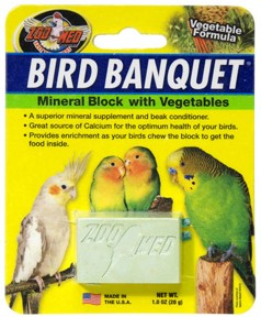 Bird Banquet Block - Vegetable - 1oz