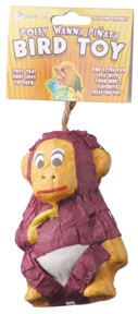 Monkey - Mini Pinata - Polly Wanna Pinata