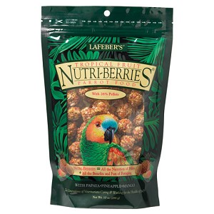 Tropical Fruit Nutri-Berries - Parrot - 3lb - Greyhaven Empty Stocking Drive