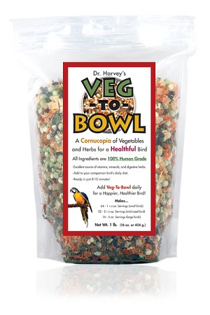 Veg-to-Bowl - All Vegetable Mix - Dr. Harvey's - 1lb