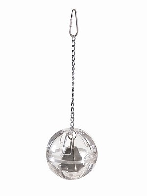 Foraging Ball with Bell and Chain