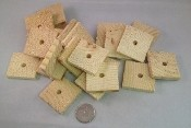 "1.5"" x 1/4"" Pine Thinnies - Natural - 24pc"