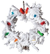 Supreme Cotton Wreath - 8""