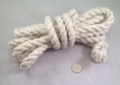 "Superior Cotton Rope - 1/2""d - by the foot"