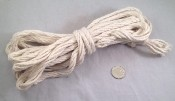 "Superior Cotton Rope - 5/16""d - by the foot"